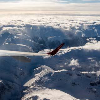 View of Swiss Alps near Grimselpass