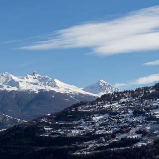 Blick vom Mont d'Orge in südöstliche Richtung