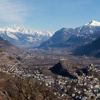 Sion and the Rhone valley