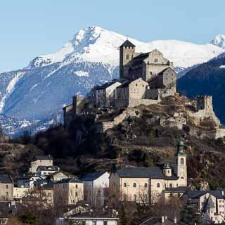 Valère, Sitten (Sion), Wallis, Schweiz