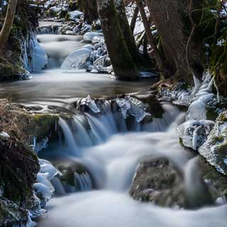 Brühlbach im Winter